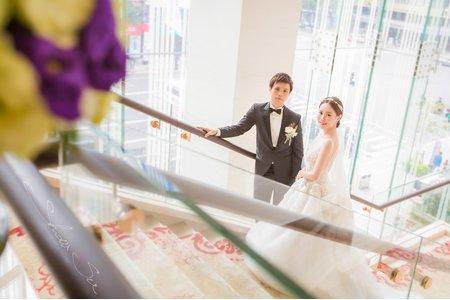[婚攝] 博文&米娜 台北@大倉久和│結婚午宴