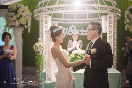 [婚攝] Steve & Maggie│台北@青青食尚花園會館│結婚晚宴