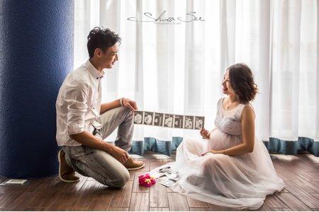 [孕婦寫真] Ashely 38W