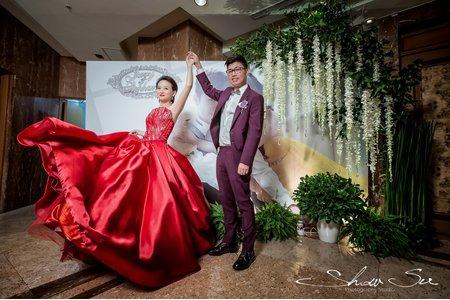 [婚攝] Jerry & Stephanie│桃園@尊爵大飯店│午宴@婚禮紀錄