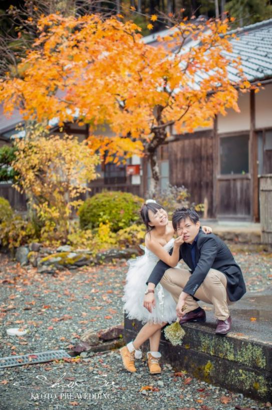 2018四月櫻花季日本京都海外婚紗限量包作品