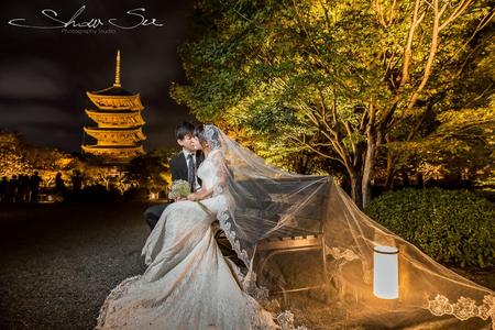2018四月櫻花季日本京都海外婚紗限量包