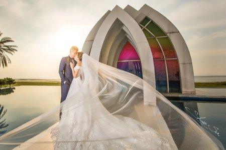 [自助婚紗] Ben & Cheryl│林安泰古厝│淡水莊園@自助婚紗@婚紗攝影│PRE-WEDDING