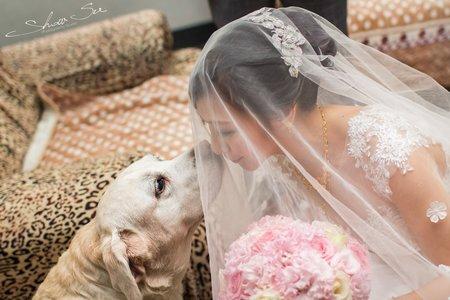 [婚攝] 育任 & 怡婷│台北@富信大飯店│訂結儀式@婚禮紀錄