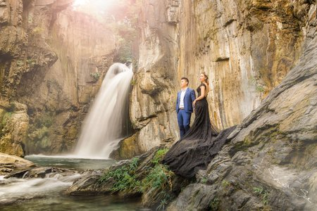 [自助婚紗] 承晏 & 紋君│清境@老英格蘭莊園│瀑布婚紗│婚紗攝影│PRE-WEDDING