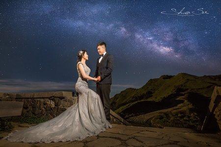 [自助婚紗] 家豪 & 俞云│清境農場│小瑞士花園│合歡山│銀河婚紗│婚紗攝影│PRE-WEDDING
