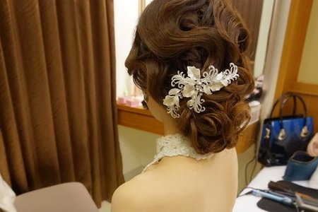 復古線條好精緻~ 新娘秘書 台南 結婚午宴