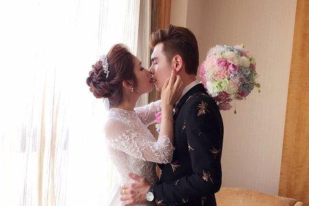 美 +帥  就對了 ~ 新娘秘書台南訂婚+結婚儀式梳妝 ~