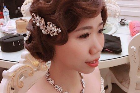 百變女王~甜美浪漫+復古女伶+時尚油頭~