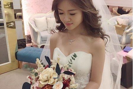 又是女神一位~ 時尚.優雅.浪漫都駕馭了 ~新娘秘書桃園訂結婚喜宴