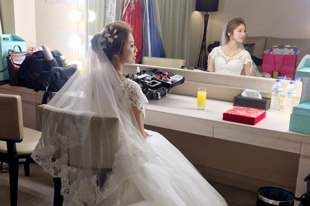女神降臨 零死角美女 ~新娘秘書新竹結婚午宴