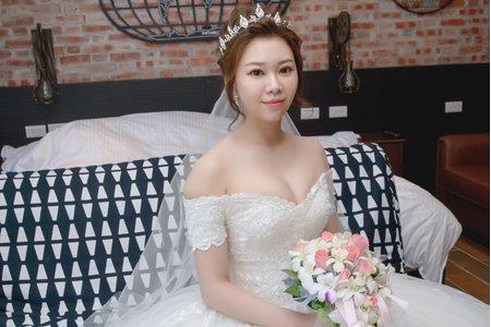 婚禮現場新娘造型