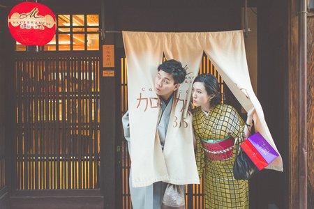 京都旅行婚紗