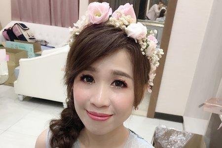 浪漫日系甜美側邊髮