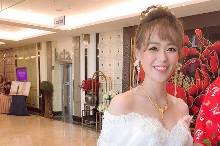 琬云結婚進場造型