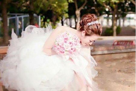 筱香白紗妝髮造型
