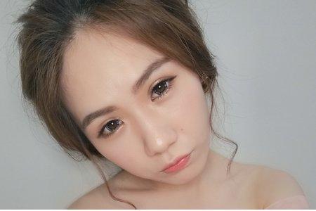 優雅甜美妝髮