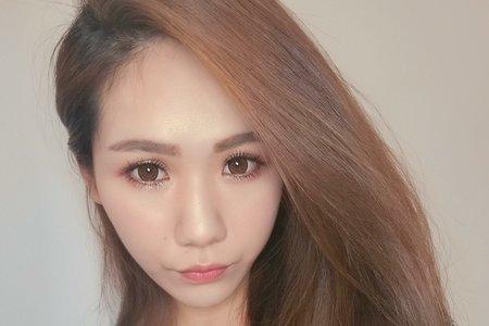 韓風乾燥玫瑰妝