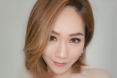 嘉義新秘 混血妝容