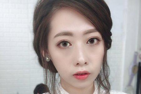唯美韓式妝容