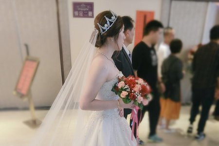 台南新秘~迎娶及進場造型