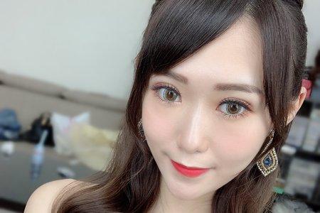 斗南新秘韓系妝髮