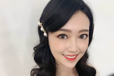 斗南新秘乾淨妝容