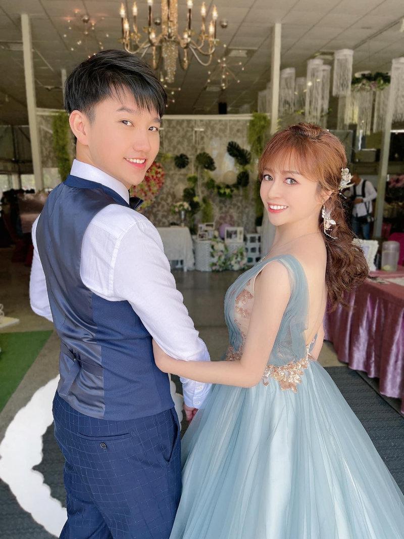 訂婚儀式整體妝髮造型作品