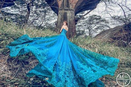 現代法國MF WEDDING │自主婚紗