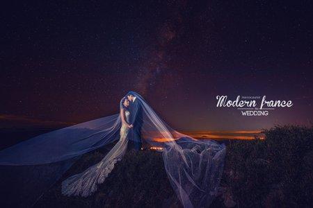 現代法國MF WEDDING │武嶺婚紗