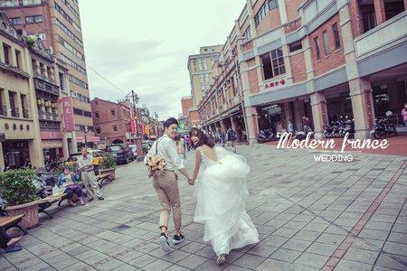 現代法國MF WEDDING │迪化街婚紗