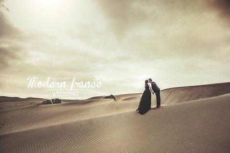 現代法國MF WEDDING │沙漠婚紗