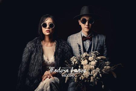 現代法國MF WEDDING │婚紗創作 棚內