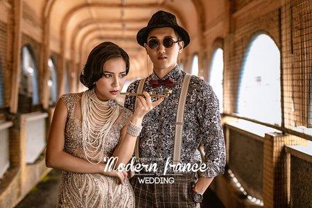 現代法國MF WEDDING │婚紗創作 基隆天橋