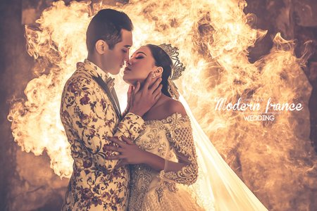 現代法國MF WEDDING │火舞