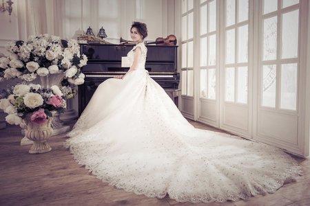 精緻手工婚紗-白紗篇