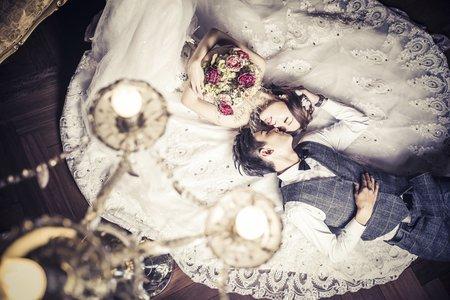【WH婚紗客照】宜萱&郁凱 復古的美麗