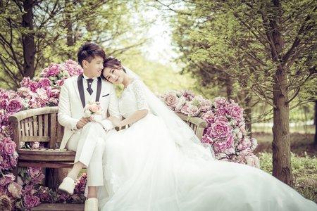 WH韓風婚紗客照-偉婷&博隆