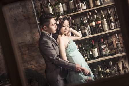 WH韓風婚紗客照-意欣+均豪