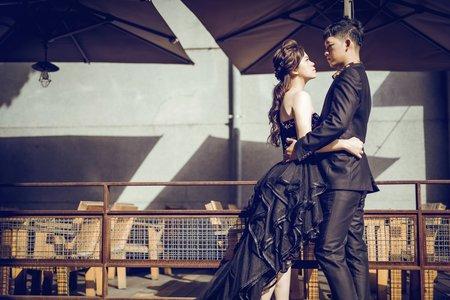 WH韓風婚紗客照-意婷