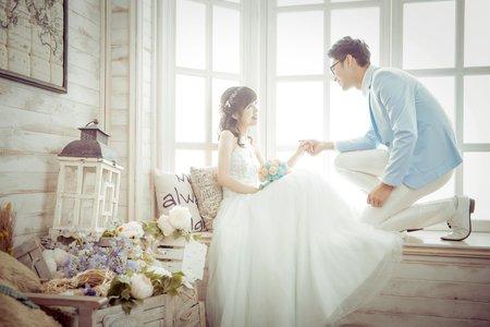 WH韓風婚紗-歆雅&孟學