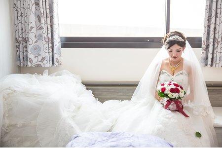 健維&惠茹 訂結紀錄@台中桃園婚攝-台中自宅+桃園彭園餐廳