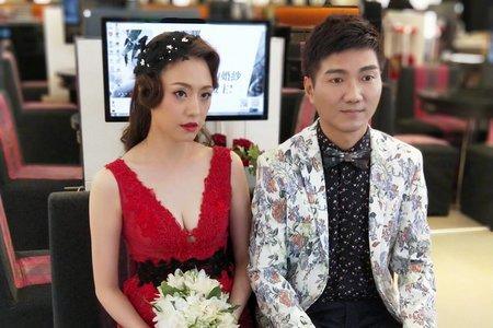雅文婚紗造型