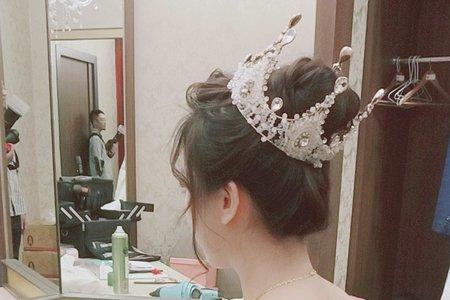 陳琳結婚白紗造型