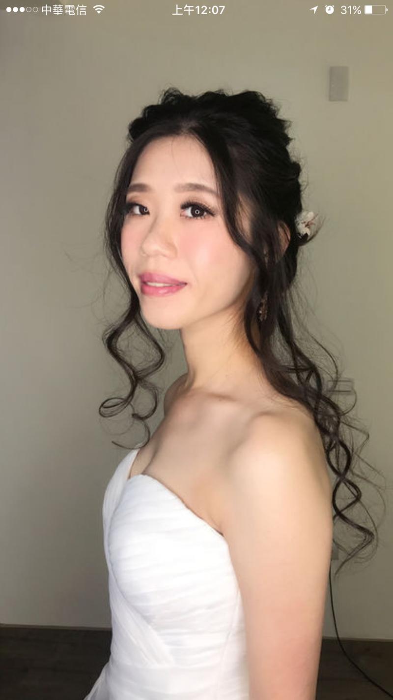 仙仙白紗造型