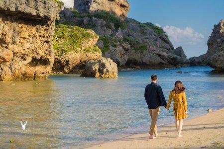 邊拍婚紗邊旅行-沖繩
