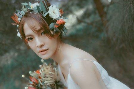 花系列自助婚紗