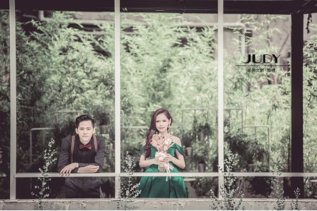 紹淳❤️岑穎| JUDY文創.婚禮 | 婚紗照 | 水尾漁港  | 花卉中心 | 黑森林 | 華山藝文中心