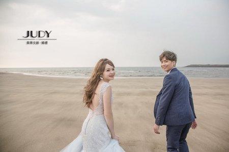 偉哲❤️佩琳 | JUDY文創.婚禮 | 婚紗照 | 黑森林 | 冷水坑 |台北婚紗景點推薦|