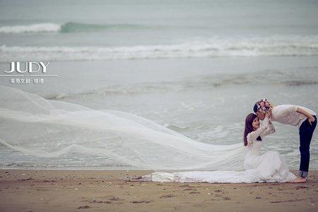 深民❤️姿儀 | JUDY茱蒂文創婚禮 | 婚紗照 | 台北外拍景點 | 林安泰 | 水尾漁港
